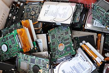 Destruction de disques durs